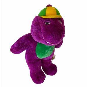 """Vintage Barney Purple Dinosaur 15""""."""